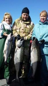 Tillamook Bay Salmon fishing.