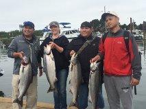 south jetty salmon