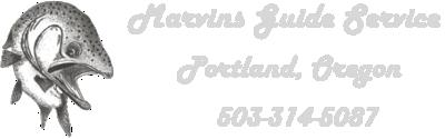 OR & WA Fishing Guide | Marvin Henkel