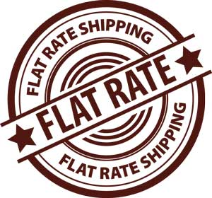 Flat Rate Shipping Logo